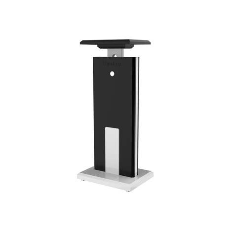 desk chair with speakers speaker stand pro tower black studio desk workstation