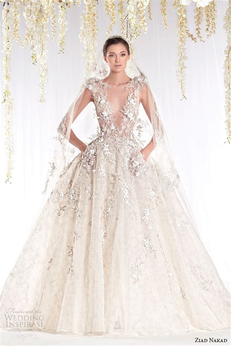 Couture Wedding Dresses by If Cinderella Had A Flaky Godmother Magical