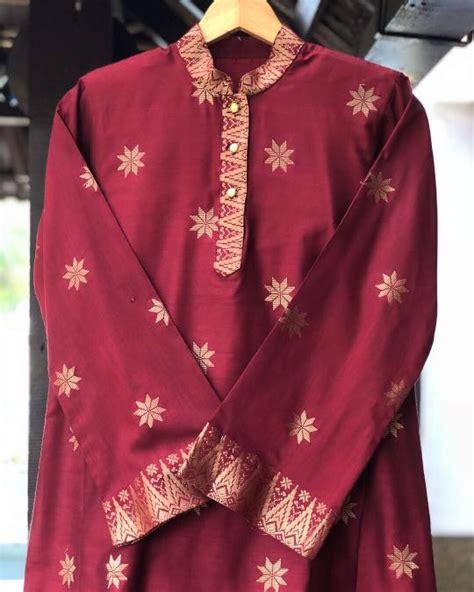 Baju Kurung Cekak Musang baju kurung cekak musang songket muslimah fashion two