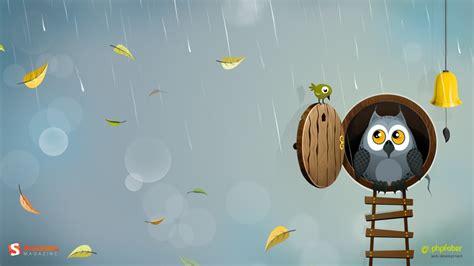 owl wallpaper for macbook 1366x768 autumn owl desktop pc and mac wallpaper