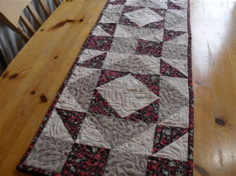 Simple Quilted Table Runner Patterns by How To Quilt Quilt Blocks Simple Quilt Patterns