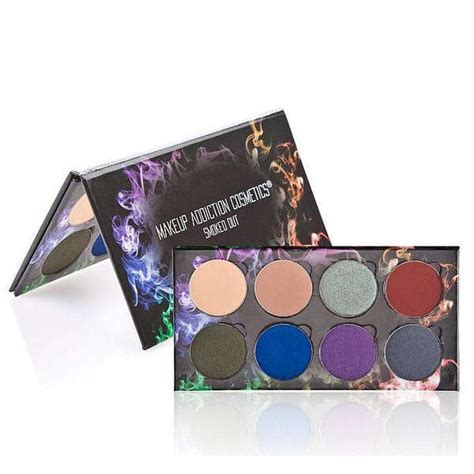 Meanow Countour Palette palette smoked out makeup addiction colorsandmakeup