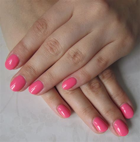 Pink Lebong 2 Pl 043 semilac 046 manicure paznokcie