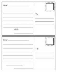 1000 ideas about postcard template on free
