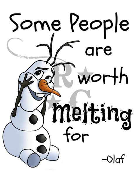 printable olaf quotes olaf melting clipart clipart suggest