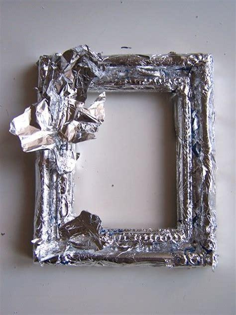 cornici di argento decorare una cornice foglia argento cose di casa