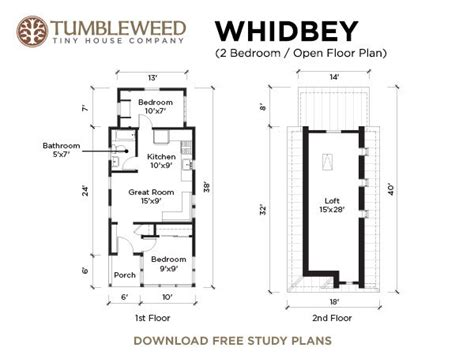 tumbleweed floor plans a little house in little rock built with a tumbleweed tiny