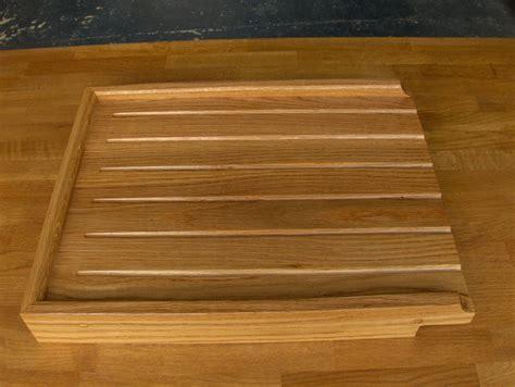 wooden drainer for belfast sink solid oak worktop kitchen units sets mince his words