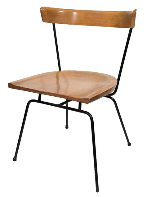 Maple Dining Chairs Paul Mccobb 1535 Iron And Maple Dining Chairs At 1stdibs