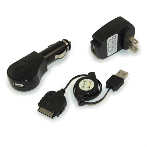 mp3 charger my cable mart ipod iphone itouch mp3 charger 3 kit