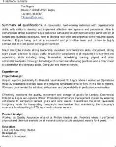 Resume Employment Gaps Sample by Sample Resume Gap