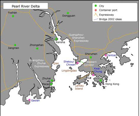Photo Carte Delta De La Rivi 232 Re Des Perles Guangdong