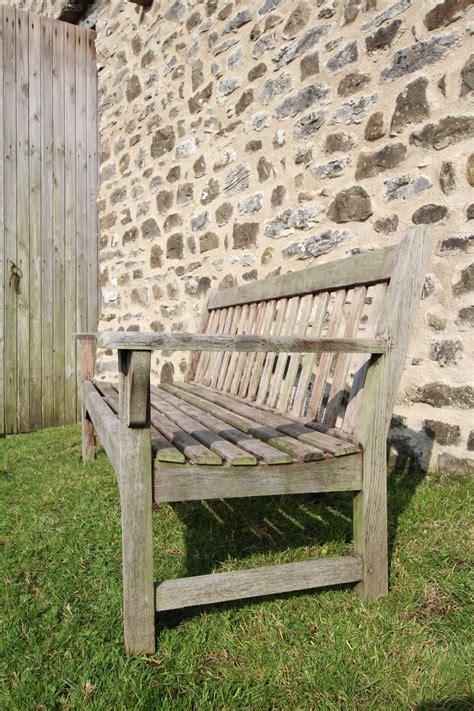 antique teak bench antiques atlas heals 1950 s teak garden bench by bolckow