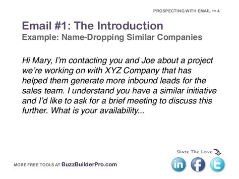 email template for sales introduction the ultimate guide to selling with email