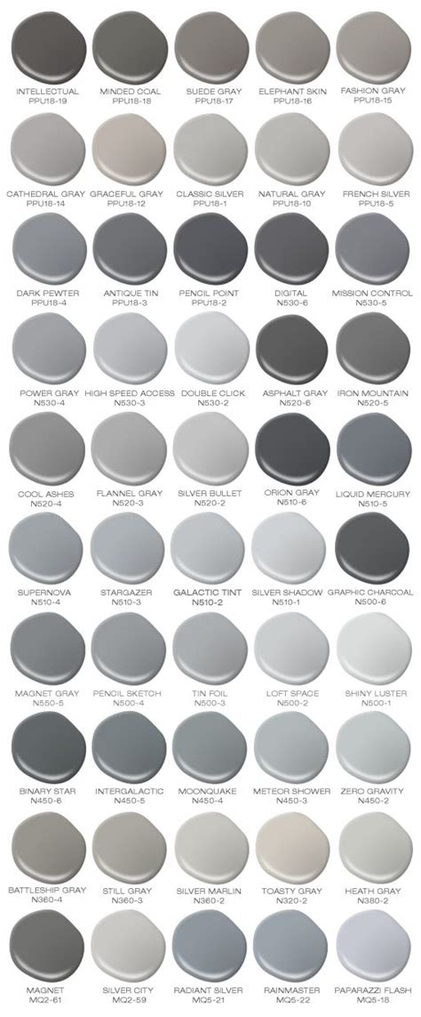 colors that work with gray do you love the color grey colorfully behr has compiled a