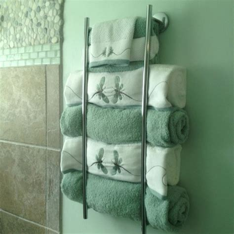 Towel Designs For The Bathroom 18 Diy Towel Storage Ideas To Easily Organize The Bathroom
