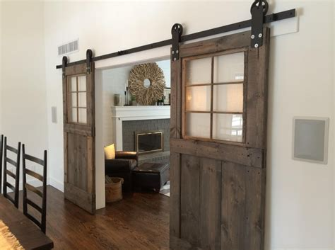 sliding barn doors in homes sliding barn doors they re not just for exterior use or