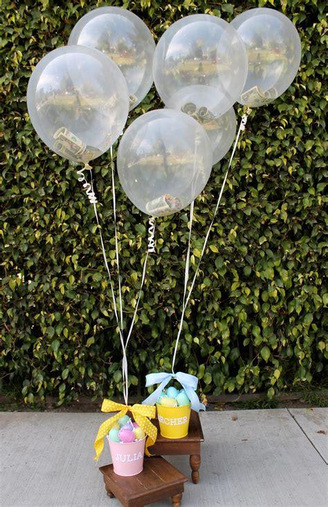 diy money balloon easter basket evite