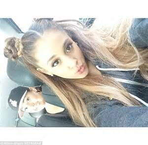 hairstyles for selfies ariana grande ditches trademark hairstyle for princess