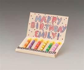 dazzling birthday candle card crayola com