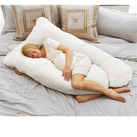 Pillows Pregnancy by Today S Coolmax White Pregnancy Pillow Free Shipping