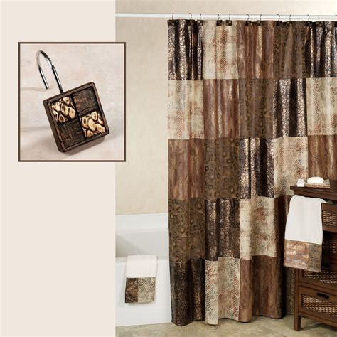 Shower Curtains Zambia Shower Curtain And Hooks