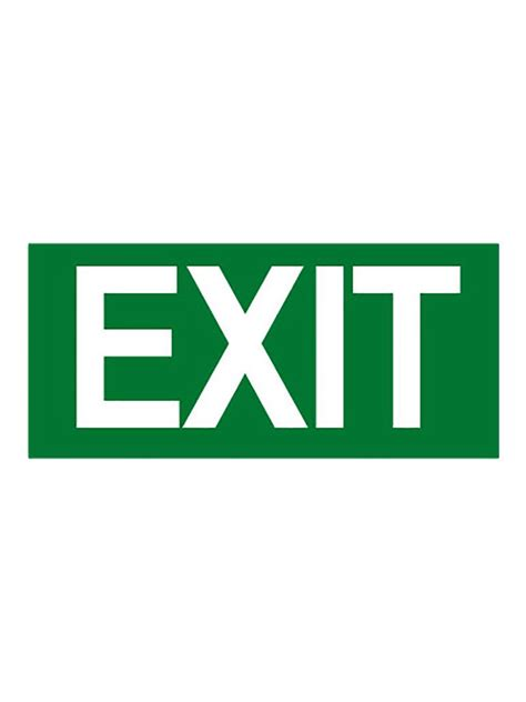Exit Sign by Exit Signs Mezzolite Led Exit Sign Emergency Lighting