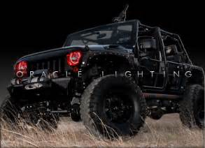 07 15 jeep wrangler ccfl oracle halo fog light rings kit