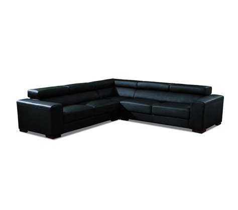 Sofa Bonded Leather Dreamfurniture 2280 Modern Bonded Leather Sectional Sofa