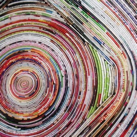 vasi di carta come ti riciclo le riviste vasi da fiori e porta oggetti