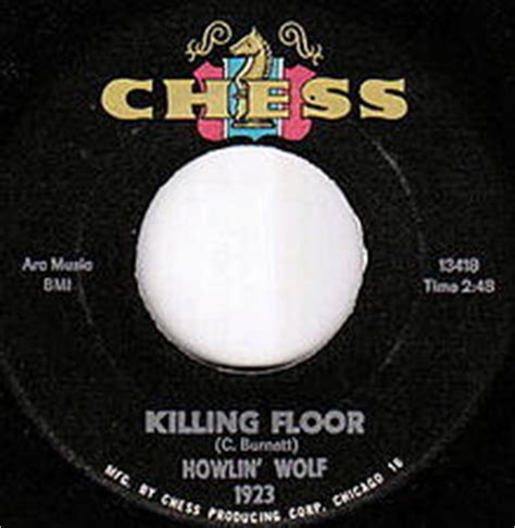 killing floor howlin wolf song