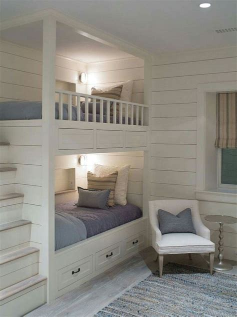 how to make a small kids bedroom look bigger 25 best ideas about built in bunks on pinterest white