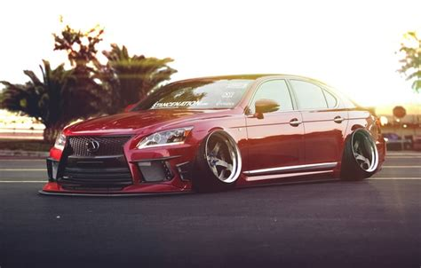 lexus ls stance wallpaper low car front lexus ls 460 stance