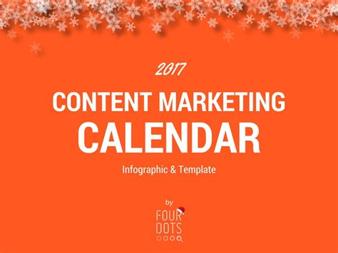 Simple Marketing Calendar Template 2017