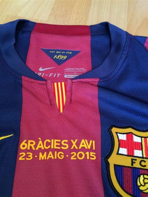 Kaos T Shirt Xavi Hernandez Xavi fc barcelona shirt afscheidswedstrijd xavi hernandez neymar jr maat l catawiki