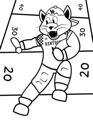 kentucky basketball coloring page kentucky wildcats basketball coloring pages sketch
