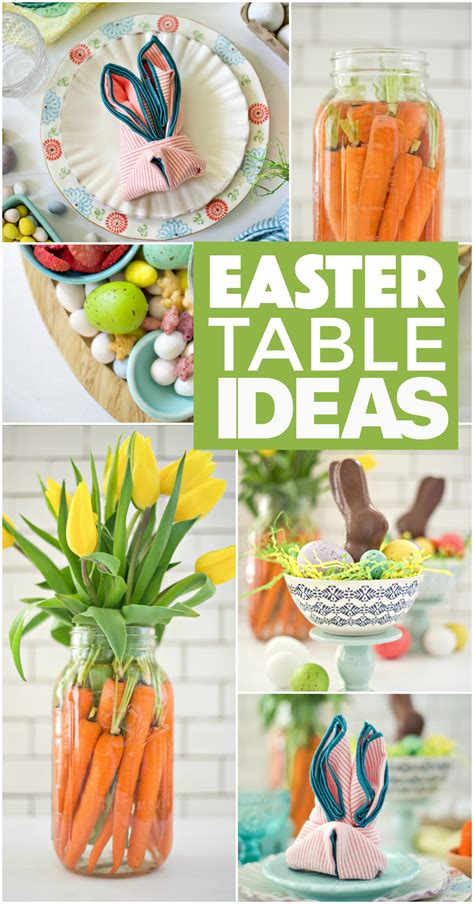 easter 2017 ideas simple easter table ideas fork and beans