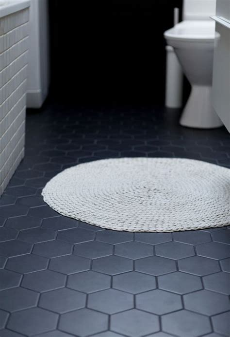 hexagon bathroom floor tiles 25 best ideas about hexagon tiles on design