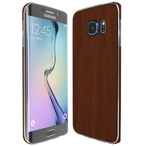Wooden Skin Protector For Samsung Galaxy S7 Edge Skinomi Techskin Samsung Galaxy S6 Edge Wood Skin