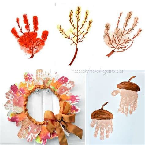 crafts with handprints 19 easy and adorable handprint crafts for fall happy