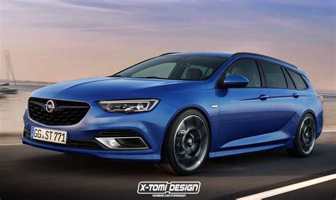opel insignia 2017 2017 opel insignia opc commodore ss sportwagon rendered