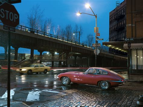 jaguar nyc the amazo effect an e type in new york
