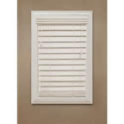 home decorators collection premium faux wood blinds home decorators collection ivory 2 1 2 in premium faux