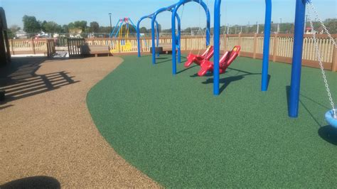 Rubber Playground Flooring by Rubber Playground Surface Poured In Place Flooring