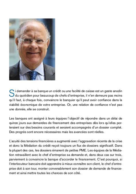 Credit Formation Du Chef D Entreprise Guide Web M 233 Diation Du Cr 233 Dit Chef D Entreprise Banques