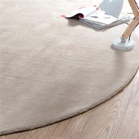 Délicieux Tapis Rond De Salon #2: Tapis-rond-soft-beige-200-cm-diametre-1000-8-5-131656_4.jpg