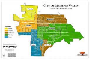 moreno valley trash collection map
