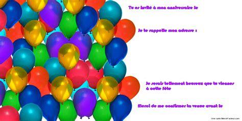Lem Q Bon carte d anniversaire invitation gratuite coleteremelly site