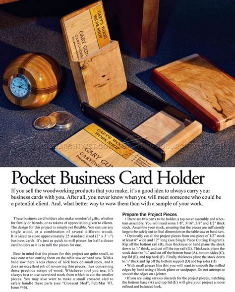 Wood Boardgame Card Holder Template by Business Card Holder Plans Wood Image Collections Card