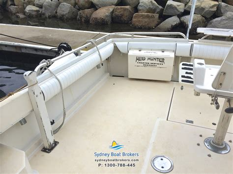 41 Year Spends 40000 To Find A Mate by 1987 Steber 41 Flybridge Sydney Boat Brokers